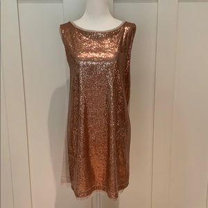 MICHAEL STARS ⭐️ SEQUIN TEE DRESS IN ONE SIZE